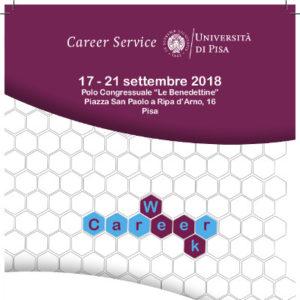 Career Week ATENEO-UNIPI 17-21 Settembre