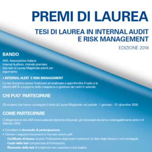 Bando di concorso per 2 Premi per tesi di Laurea Magistrale