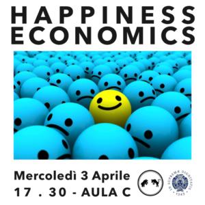 Happiness Economics, 3 Aprile 2019