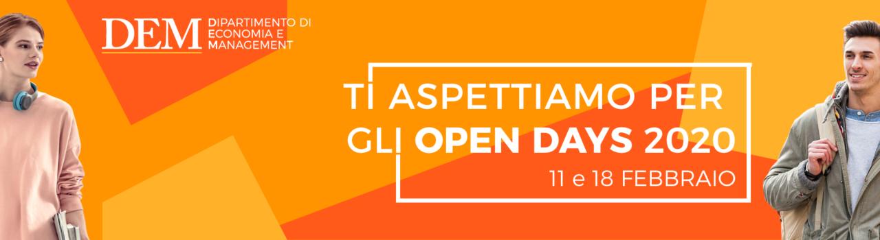 Open Days Economia 2020