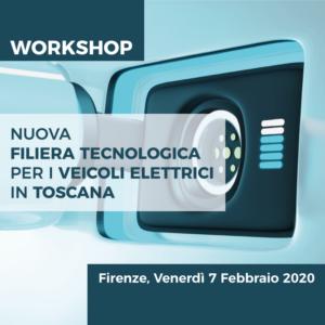 Workshop: Nuova filiera tecnologica per i veicoli elettrici in Toscana