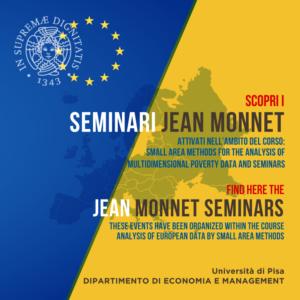Seminari Jean Monnet – Jean Monnet Seminars