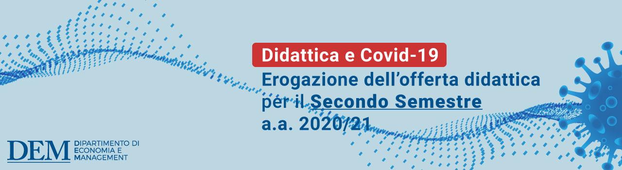 Didattica E Covid-19 Secondo Semestre 2020/21