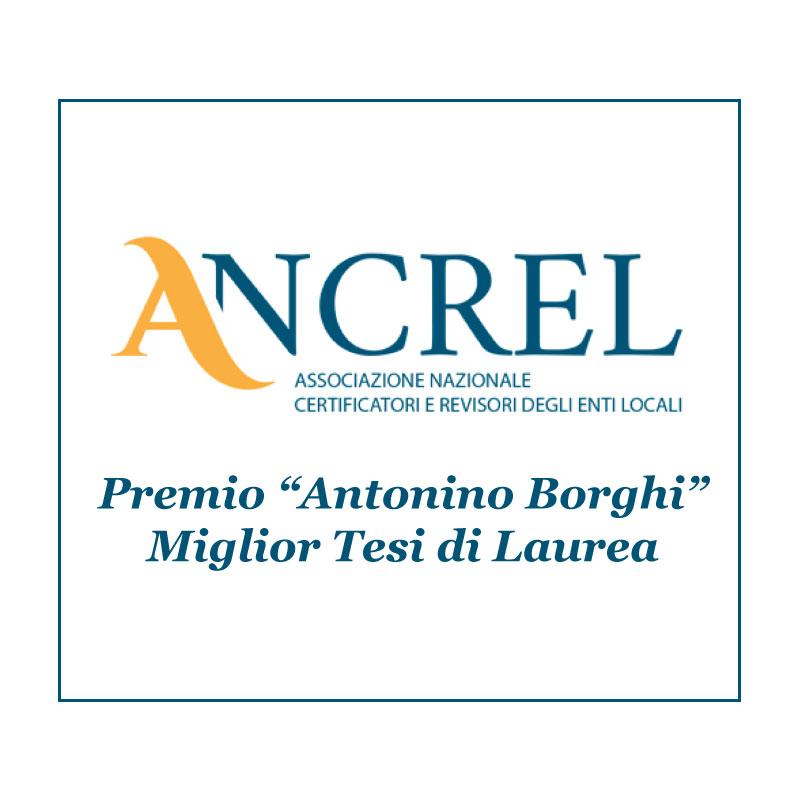 """Premio """"Antonino Borghi"""" Miglior Tesi di Laurea"""