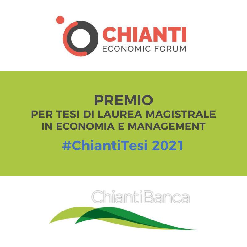 Premio per Tesi di Laurea Magistrale #ChiantiTesi – Terza edizione